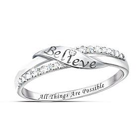 Believe Diamond Ring