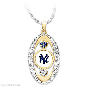 For The Love Of The Game Yankees Pendant Necklace