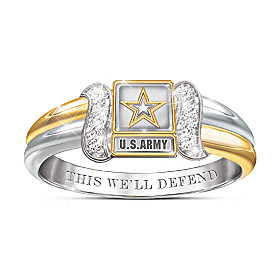 U.S. Army Diamond Ring