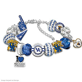 Kentucky Wildcats Fashionable Fan Bracelet