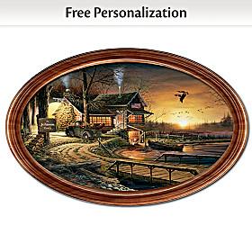 Sunrise Retreat Personalized Collector Plate