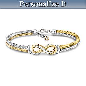 Infinite Love Personalized Bracelet
