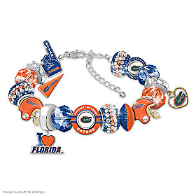 Fashionable Fan Gators Bracelet