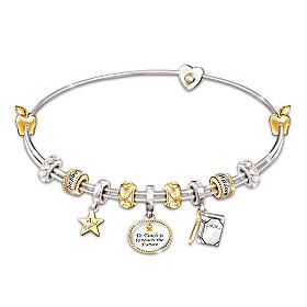 Passion For Teaching Charm Bracelet