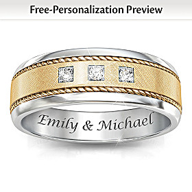 Timeless Love Personalized Diamond Ring