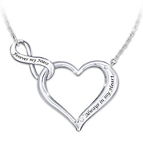 Always & Forever My Niece Necklace