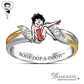 Betty Boop Ring