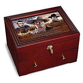 John Wayne: Legend Keepsake Box