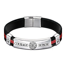 In The Line Of Duty Men's Bracelet