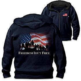Freedom Isn't Free Men's Hoodie