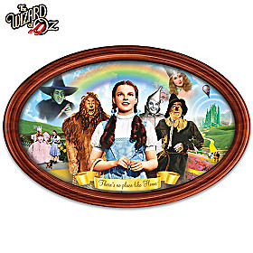 Adventures In Oz Collector Plate