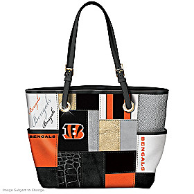 For The Love Of The Game Cincinnati Bengals Tote Bag