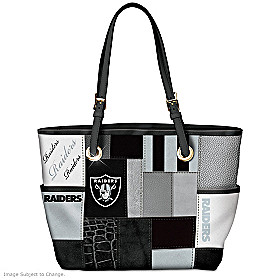 For The Love Of The Game Las Vegas Raiders Tote Bag