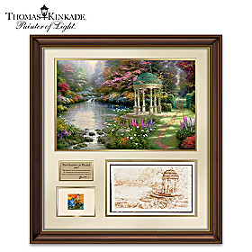 Thomas Kinkade: The Making Of A Masterpiece Wall Decor