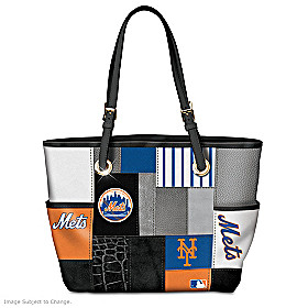 New York Mets Tote Bag