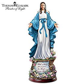 Thomas Kinkade Hail Mary, Full of Grace Sculpture