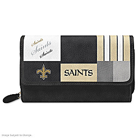 For The Love Of The Game New Orleans Saints Wallet