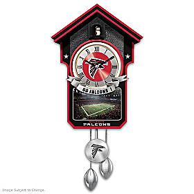 Atlanta Falcons Cuckoo Clock