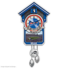 Buffalo Bills Cuckoo Clock