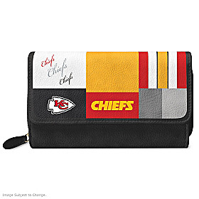 For The Love Of The Game Kansas City Chiefs Wallet