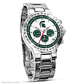 Michigan State Spartans Men's Watch