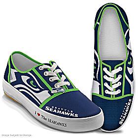 I Love The Seahawks Women's Shoes