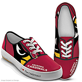 I Love The Cardinals Women's Shoes