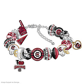 South Carolina Gamecocks Fashionable Fan Bracelet