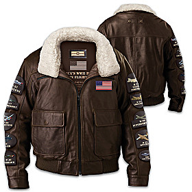 America's WWII Heroes In Flight Men's Jacket