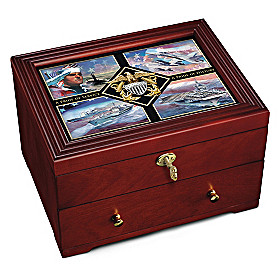 The Navy Pride Keepsake Box