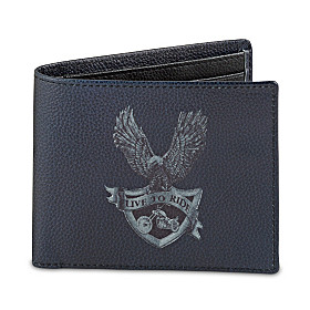 Live To Ride Men's Wallet