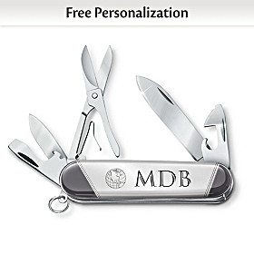 Dad, You Mean The World To Me Personalized Collector Knife