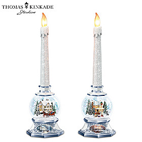 Thomas Kinkade Season Of Light Candle Set