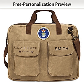 U.S. Air Force Personalized Tote Bag