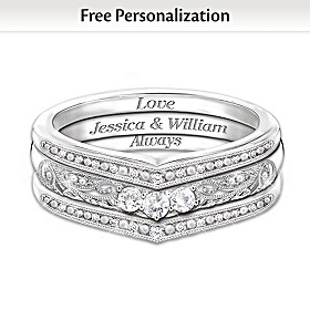 Love Always Personalized Ring
