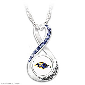 Baltimore Ravens Forever Pendant Necklace