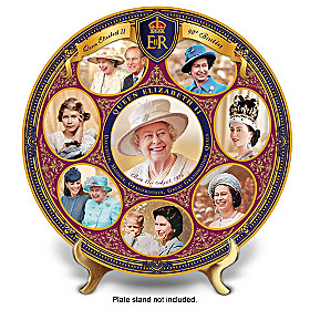 Queen Elizabeth II 90th Birthday Collector Plate