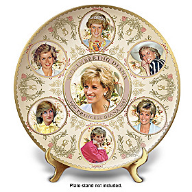 Celebrating Princess Diana Collector Plate