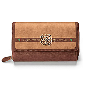 Irish Blessing Wallet
