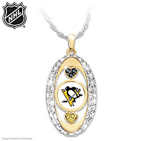 For The Love Of The Game Penguins® Pendant Necklace
