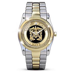 Navy Men's Watch