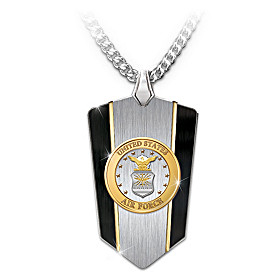 U.S. Air Force Pendant Necklace