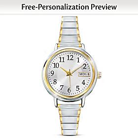 Classic Daytimer Personalized Women's Watch