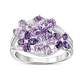 Lilac Blossom Ring