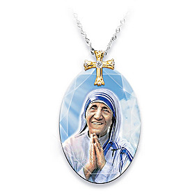 Mother Teresa Pendant Necklace