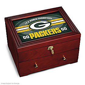 Green Bay Packers Keepsake Box