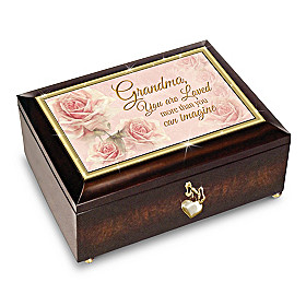 Grandma, You Are Loved Music Box
