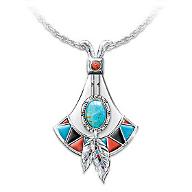 Sacred Stone Pendant Necklace