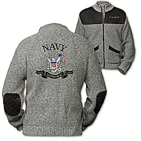 Honor, Courage, Commitment Men's Jacket