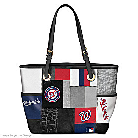 Washington Nationals Tote Bag